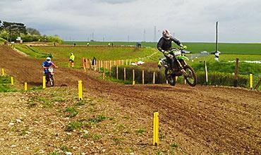 French National Motocross choose Cplast Track Markers